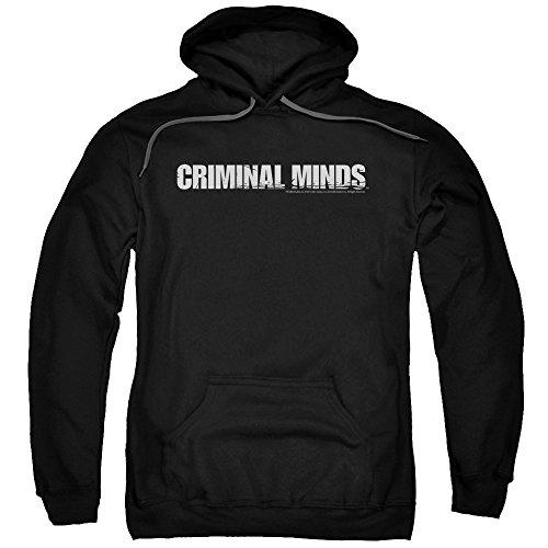 Criminal Minds TV Show CBS Logo Adult Pull-Over Hoodie