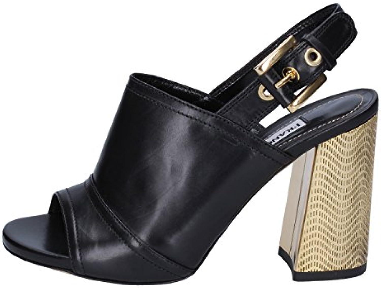 FRANCESCO SACCO Sandali Donna Pelle Nero   Moderno Moderno Moderno Ed Elegante Nella Moda  741f15
