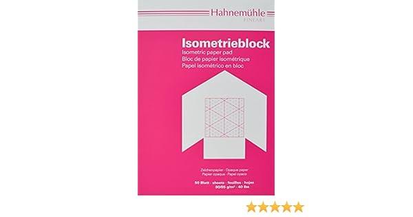 50 Blatt Isometrieblock A3 Hahnemühle 10662762 0,28€//Blatt