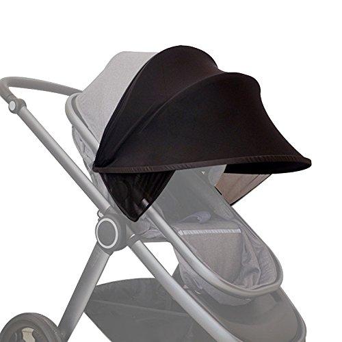 SODIAL cochecito bebe parasol Carriage Sun Shade Toldo