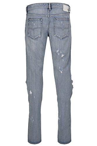Diesel Herren Jeans Straight Leg BUSTER 00SDHB Wash 0852H Hellblau