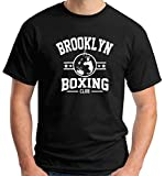 T-Shirt Uomo Nero TBOXE0076 Brooklyn Boxing Club
