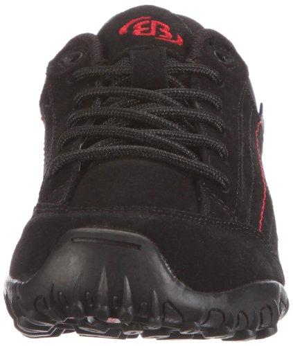 Bruetting Racewalk 191129, Chaussures Marche nordique femme Noir (cuir)