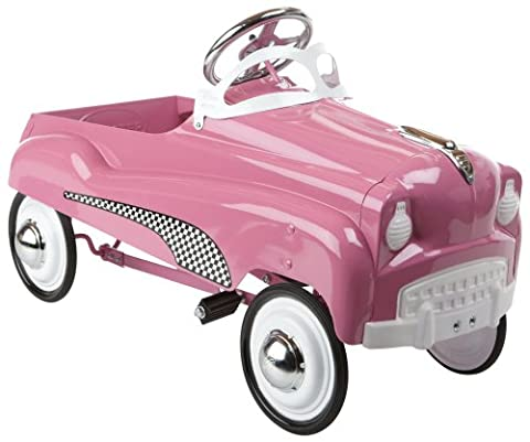 Instep Pink Lady Pedal Car by