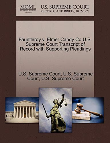 Candy Co U.S. Supreme Court Transcript of Record with Supporting Pleadings ()