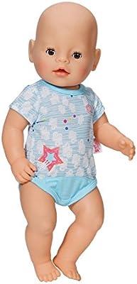 BABY born 822074 Juego de ropita para muñeca accesorio para muñecas - accesorios para muñecas (Juego de ropita para muñeca, 3 año(s), Azul, Rosa, 2 pieza(s), 205 mm, 10 mm)