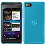 G-HUB® - BlackBerry Z10 Protective Bendy Soft Gel Case - Funda Blando Flexible en AZUL