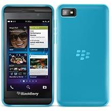 G-HUB® - BlackBerry Z10 Protective Bendy Soft Gel Case - Funda Blando Flexible en AZUL