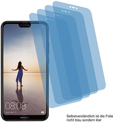 4ProTec 4X ANTIREFLEX matt Schutzfolie für Huawei P20 Lite Bildschirmschutzfolie Displayschutzfolie Schutzhülle Bildschirmschutz Bildschirmfolie Folie