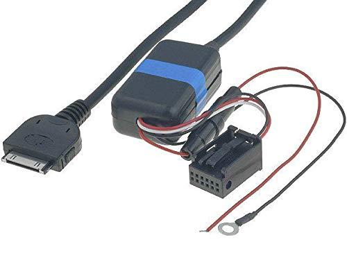 Cable Adaptateur AUX iPod iPhone pour BMW 3 5 X3 X5 sans navigation - ADNAuto