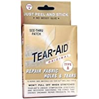 Tear–Aid Repair 3inch x 5calcio Patch Kit, Fabric By Tear-Aid - Trova i prezzi più bassi