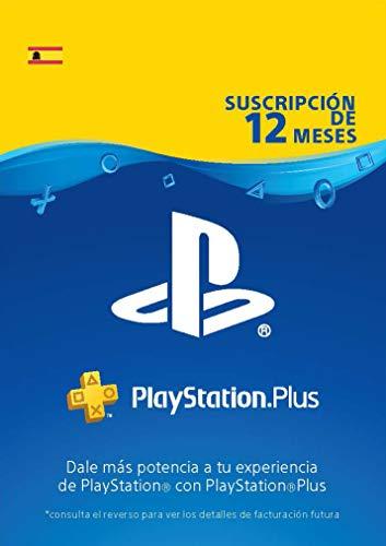 PlayStation Plus Suscripción 12 Meses | Código de descarga PSN - Cuenta...
