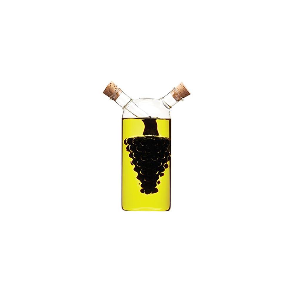 World Of Flavours Italienische Traube Glas Essig Und L Flasche