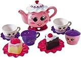 Terrific Chad Valley Pink Tea Party Set --