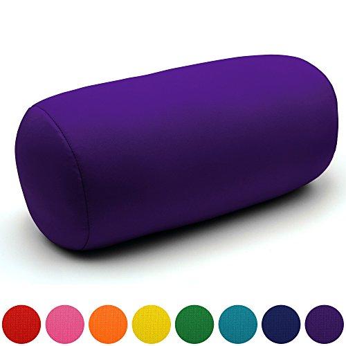Coussin microbille, cadeau original - Coloris Assortis – Violet
