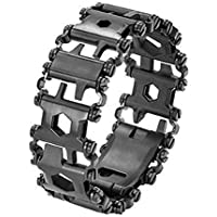 Nghvnm Multifunction Tread Bracelet Stainless Steel Outdoor Bolt Driver Tools Kit Travel Friendly Wearable Multitool