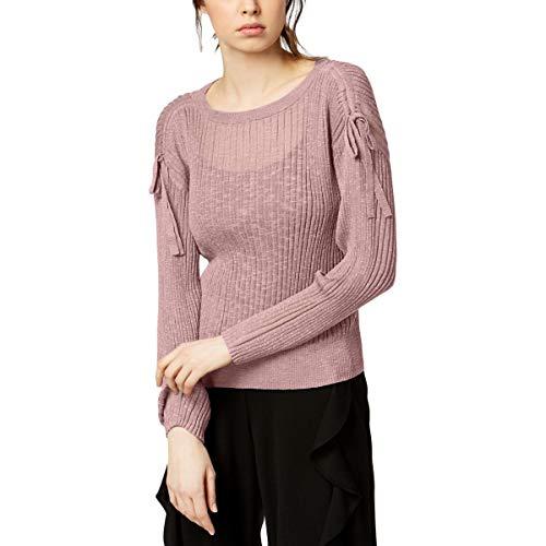 Bar III Damen Pullover mit Kordelzug - - Mittel