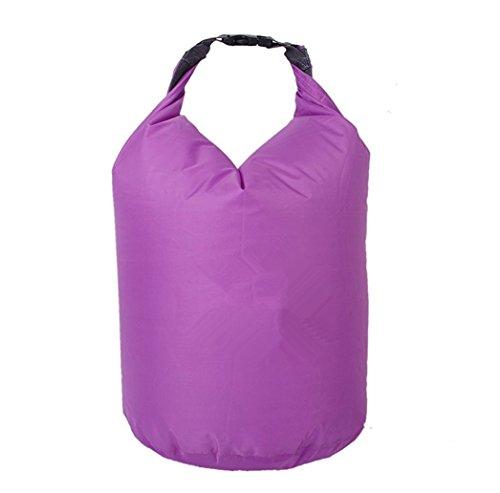 Fengh 20L à la poussière Sports Dry Bag Pouch pour le Bateau de pêche Rafting d'escalade (Violet)