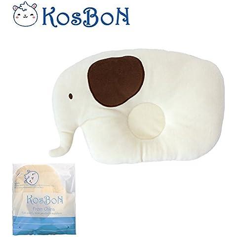 KSB Cute suave pp algodón almohada bebé Jefe Posicionador, prevenir cabeza plana para 3meses a 3años infantil