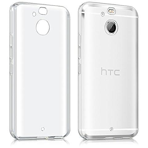 kwmobile Étui TPU silicone élégant et sobre pour HTC 10 evo en transparent