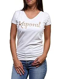 Kaporal Tee Shirt Todd off white h16
