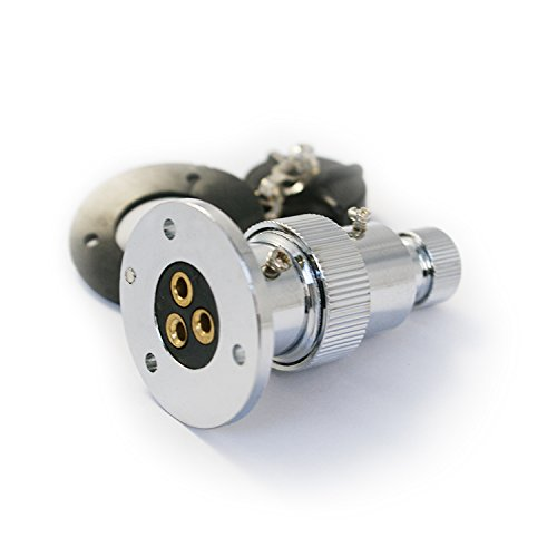 Wasserdichte Stecker von Osculati für 12 V/24 V, max. 10 A und 20 A (3 polig, max. 10 A)