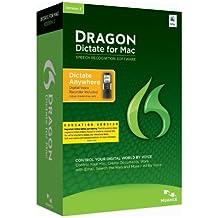 Nuance Dragon Dictate for Mac 3.0, Mobile, EDU - Software de reconocimiento de voz (Mobile, EDU Dragon Dictate, 4096 MB, 2048 MB, Intel, ENG, Education (EDU))