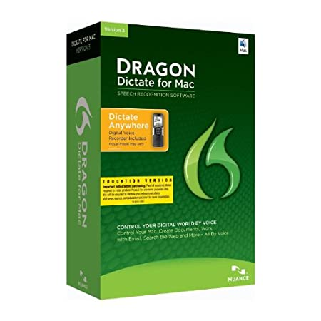 Dragon Dictate 3.0: Mobile, Educational Online Validation Program (Mac)