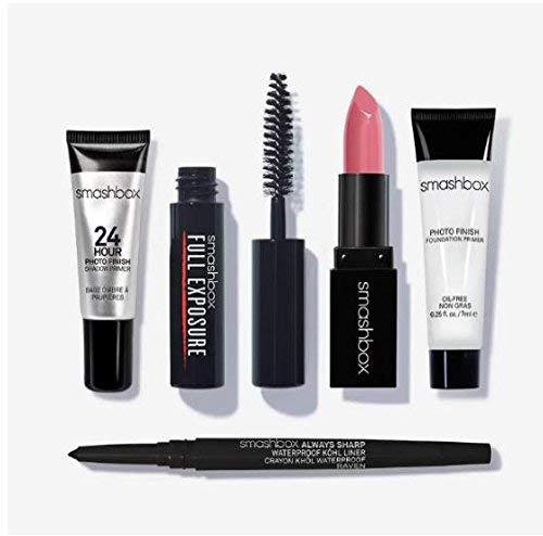 Smashbox Try It Kit: Best Sellers (2 primers, lipstick, mascara, eye liner)