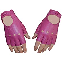 37f2e1708cb8 Paire de Mitaines en cuir d agneau gants Femme 7 couleurs