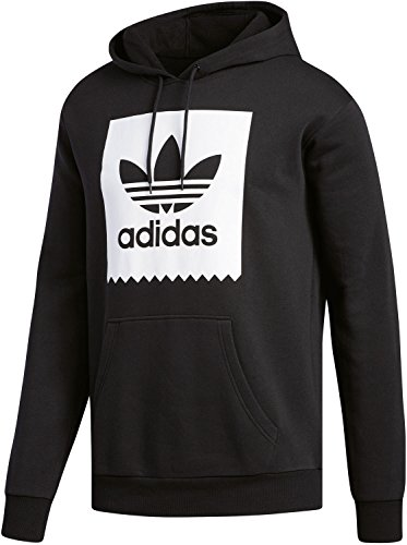 Adidas Solid Bb Hood, Herren Sweatshirt Schwarz