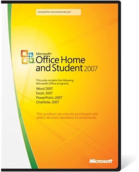 Buy Microsoft Office 2007 Home And Student