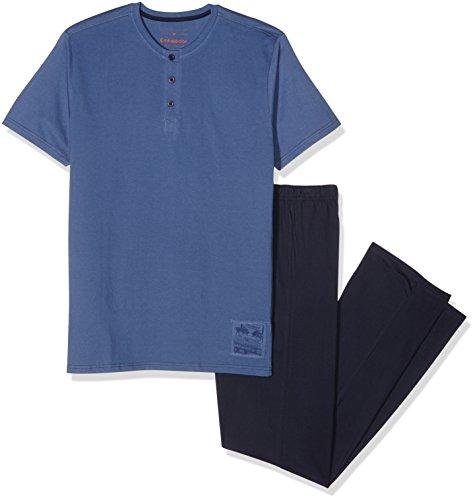 Alan Brown Herren Sportswear-Set AH.Atlantic.Pya Blau - Bleu (Denim/Navy)
