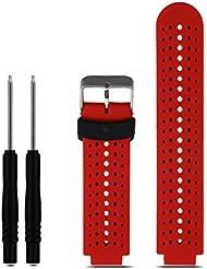 Para Garmin Forerunner 230/235/630, Amlaiworld reemplazo de silicona suave venda del reloj