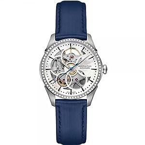 Hamilton–Reloj Mujer Hamilton Jazzmaster Viewmatic Skeleton Lady diamantes h42405991pulsera piel–h42405991