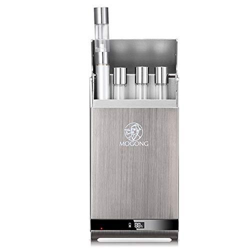 e Zigarette Starter Kit Mit USB OLED Automatische Ladebox,1100mAh Charge, Keine Nikotin, Keine E Flüssigkeit Mini E Zigarette ()