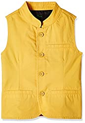 United Colors of Benetton Boys Coat (16A2JACK0022IK48EL_Mustard)