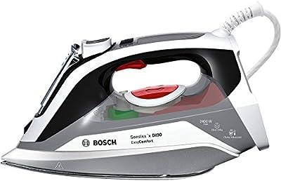 Bosch TDI90EASY - Plancha de inyección, motor de inyección, 2400 W, depósito de 0,4 l, supervapor de 200 g