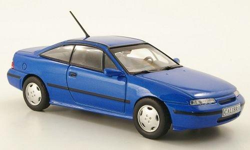 Opel Calibra V6, met.-blau (ohne Magazin), 1993, Modellauto, Fertigmodell, MCW-SC40 1:43