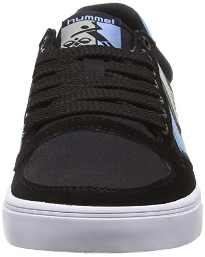 Hummel Slimmer Stadil Duo Lo, Baskets Basses mixte adulte Noir - Black (Black 2001)