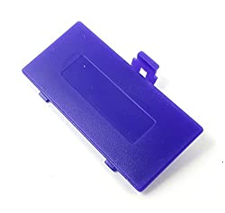 Ostent Battery Door Cover Case Repair Replacement For Nintendo Game Boy Pocket Gbp Color Purple