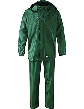 Dickies WP10050DG 3x l tamaño 3X -LARGE Vermont resistente al agua traje–verde oscuro