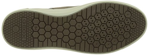 Geox J Aveup Girl B, Chaussons montants fille Beige