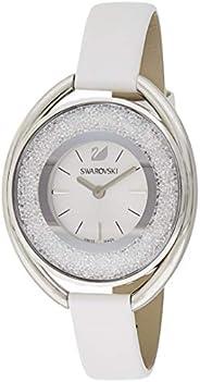 Swarovski Women's Quartz Watch, Analog Display and Leather Strap 515