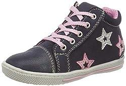 Lurchi Baby Mädchen BETTI Sneaker, Blau (Ocean 42), 22 EU