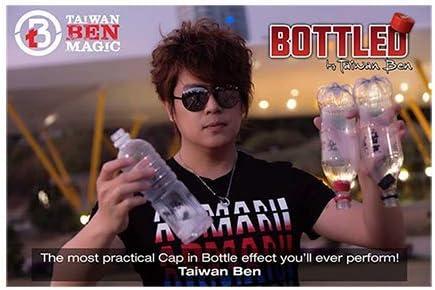 SOLOMAGIA SOLOMAGIA SOLOMAGIA Bottled (White, No Logo) by Taiwan Ben - Close-Up Magic - Tours et Magie Magiques 3fa75f