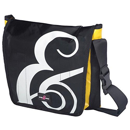 Sturm & Drang Messenger Bag (Large) LKW-Plane Schulter-/Umhänge-/Kuriertasche Uni Schule