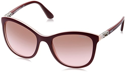 Vogue Gradient Square Women'S Sunglasses - (0Vo5033S23871454|53. 9|Pink Gradient Brown) image