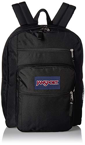 JANSPORT Big Student Backpack - 15-inch Laptop School Pack, Black