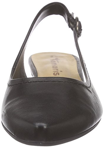 Tamaris 29400 Damen Slingback Pumps Schwarz (Black Leather 003)